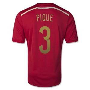 Camiseta nueva del Barcelona 2013/2014 Pique Primera