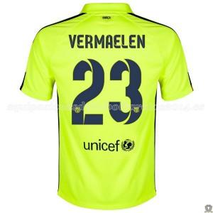 Camiseta Barcelona Vermaelen Tercera 2014/2015