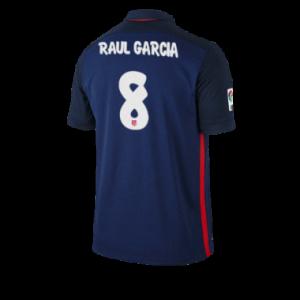 Camiseta nueva del Atletico Madrid 2015/2016 Equipacion RAUL GARCIA Segunda