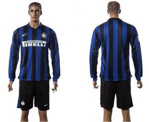 Camiseta de Inter milan 2015/2016 Manga Larga
