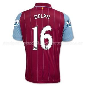 Camiseta nueva del Aston Villa 2014/15 Equipacion Delph Primera