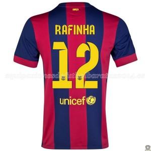 Camiseta Barcelona Rafinha Primera 2014/2015