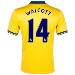 Camiseta nueva Inglaterra de la Seleccion Walcott Segunda 2013/2014