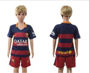 Camiseta nueva Barcelona Niños Home 2015/2016