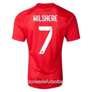 Camiseta del Wilshere Inglaterra de la Seleccion Segunda WC2014
