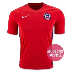Camiseta del Chile Home 2016
