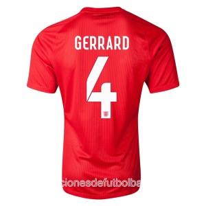 Camiseta nueva del Inglaterra de la Seleccion WC2014 Gerrard Segunda