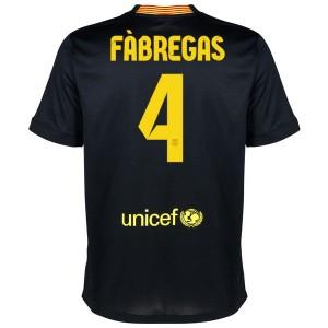 Camiseta del Fabregas Barcelona Tercera Equipacion 2013/2014