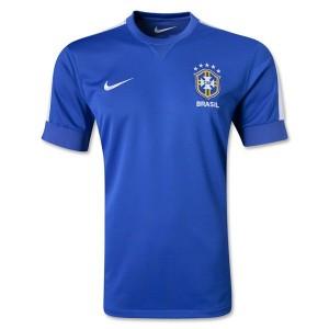 Camiseta del Brasil de la Seleccion Segunda 2013/2014