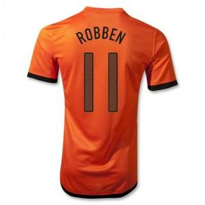Camiseta del Robben Holanda de la Seleccion Primera 2012/2014