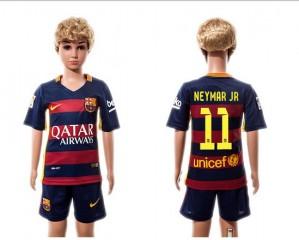 Camiseta nueva del Barcelona 2015/2016 #11 Niños Home