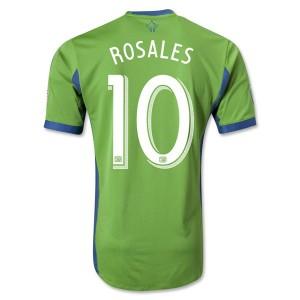Camiseta nueva del Seattle Sound 2013/2014 Rosales Tailandia Primera