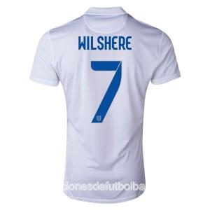 Camiseta nueva Inglaterra de la Seleccion Wilshere Primera WC2014