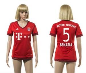 Camiseta nueva Bayern Munich Mujer 5 2015/2016
