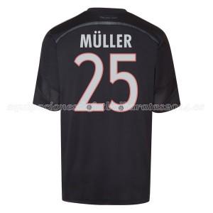 Camiseta Bayern Munich Muller Tercera Equipacion 2014/2015