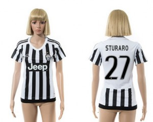 Mujer Camiseta del 27 Juventus 2015/2016