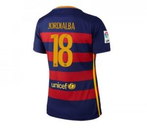 Camiseta nueva Barcelona Mujer Numero 18 Equipacion Primera 2015/2016