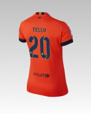 Camiseta del Alexis Barcelona Tercera Equipacion 2013/2014