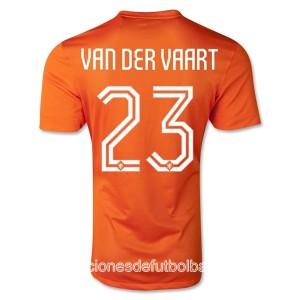 Camiseta nueva Holanda Van Der Vaart Primera WC2014