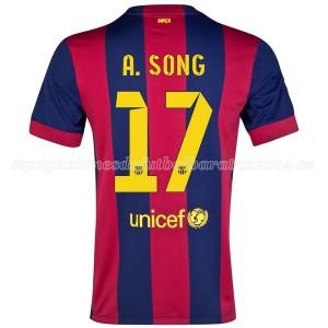 Camiseta de Barcelona 2014/2015 Primera A.Song