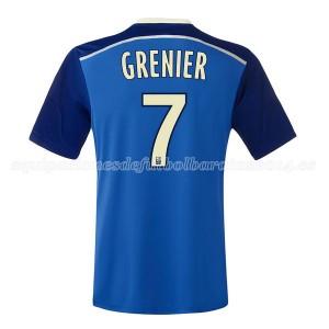 Camiseta nueva Lyon Grenier Segunda 2014/2015