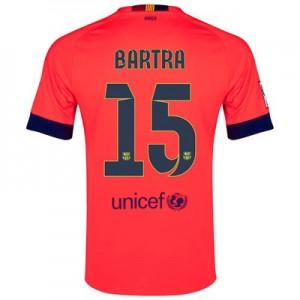 Camiseta del BARTRA Barcelona Segunda Equipacion 2014/2015