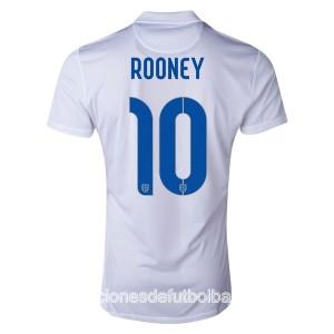 Camiseta nueva del Inglaterra de la Seleccion WC2014 Rooney Primera