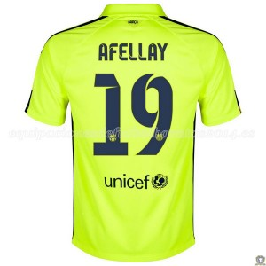 Camiseta nueva Barcelona Afellay Tercera 2014/2015