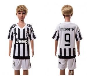 Camiseta Juventus 9 Home 2015/2016 Niños