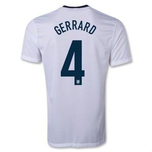 Camiseta de Inglaterra de la Seleccion 2013/2014 Primera Gerrard