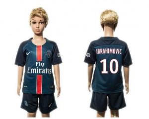 Camiseta nueva del Paris st germain 2015/2016 10 Niños