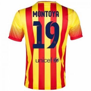 Camiseta de Barcelona 2013/2014 Segunda Montoya Equipacion