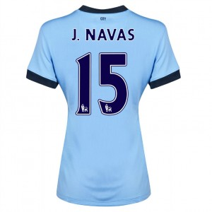 Camiseta Manchester City Fernandinho Segunda 2013/2014