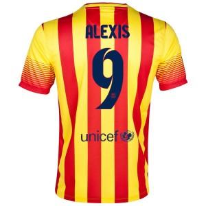 Camiseta nueva Barcelona Alexis Segunda 2013/2014