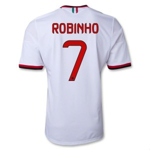 Camiseta de AC Milan 2013/2014 Segunda Robinho Equipacion