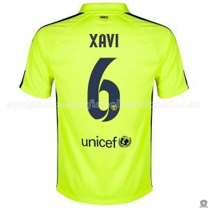 Camiseta nueva Barcelona Xavi Tercera 2014/2015