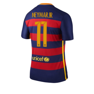Camiseta nueva Barcelona Numero 11 NEYMAR Equipacion Primera 2015/2016