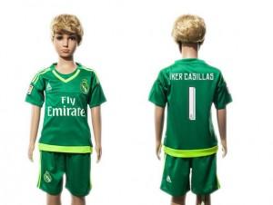 Camiseta Real Madrid 1 2015/2016 Niños