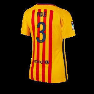 Camiseta nueva Barcelona Mujer Numero 03 Equipacion Segunda 2015/2016