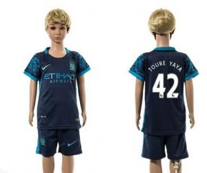 Niños Camiseta del 42 Manchester City 2015/2016