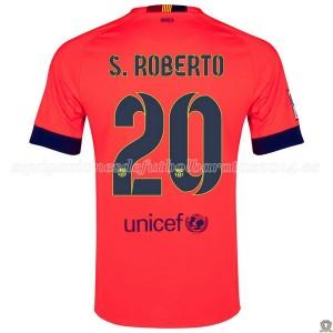 Camiseta nueva del Barcelona 2014/2015 S.Roberto Segunda