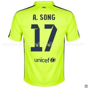 Camiseta nueva Barcelona A.Song Tercera 2014/2015