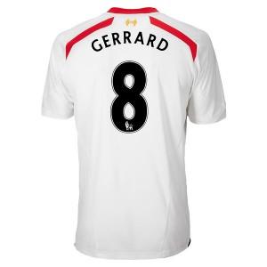 Camiseta nueva del Inglaterra de la Seleccion 2013/2014 Gerrard Segunda