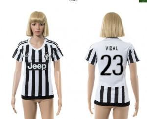 Camiseta nueva del Juventus 2015/2016 23 Mujer