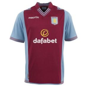 Camiseta de Aston Villa 2013/2014 Primera Equipacion