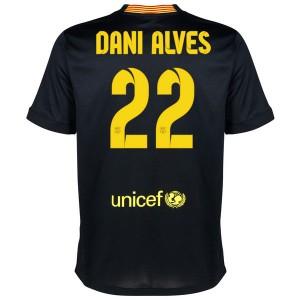Camiseta nueva del Barcelona 2013/2014 Equipacion Dani Alves Tercera