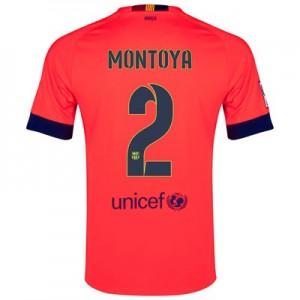 Camiseta nueva del Barcelona 2014/2015 Equipacion MONTOYA Segunda