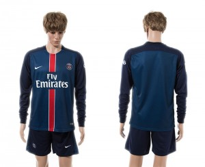 Camiseta de Paris Saint Germain 15/16 Primera Manga Larga