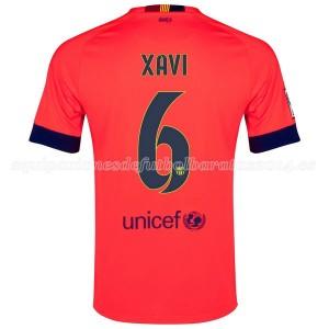 Camiseta nueva Barcelona Xavi Segunda 2014/2015