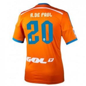Camiseta de Valencia 2014/2015 Segunda Rodrigo Paul Equipacion